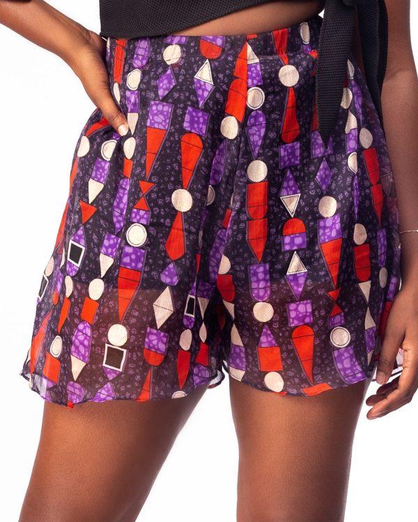 Chiffon Cover Up Shorts